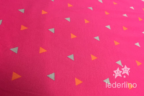 Jersey Electric Affairs Caboret pink Triangles
